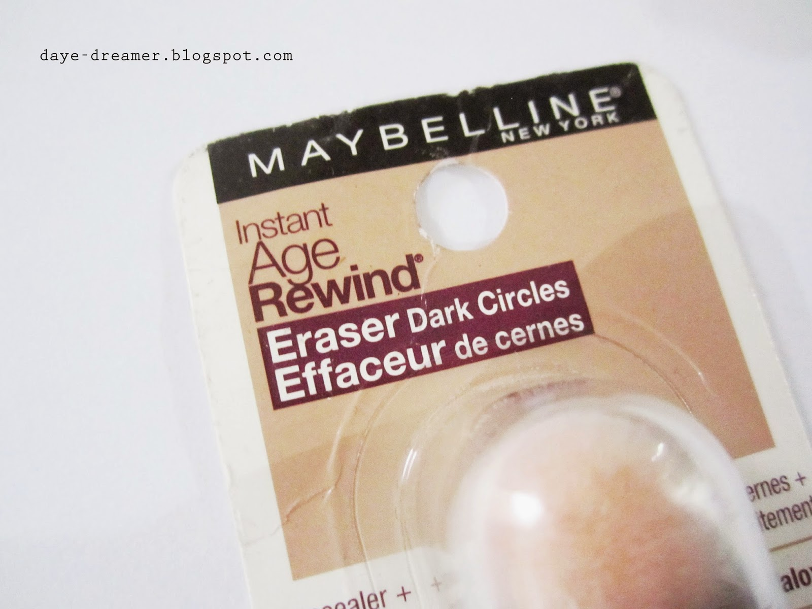 how to use maybelline instant age rewind eraser